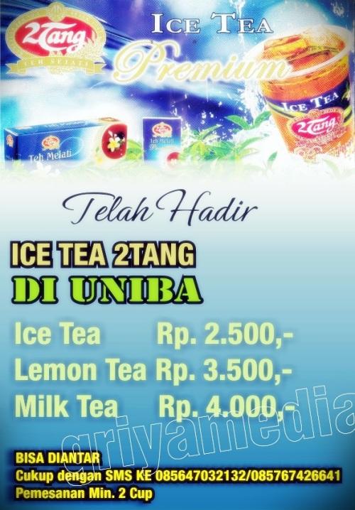 Desain leaflet Teh 2Tang