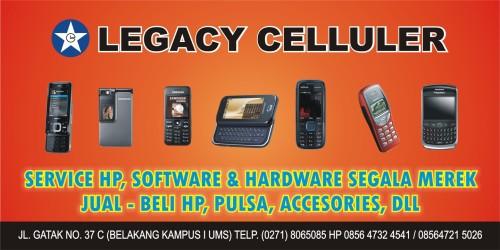 Desain Spanduk Legacy Celluler